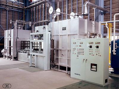 アルミ熱処理装置(T6)