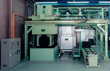 溶体化熱処理炉
