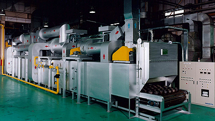 Consecutive plating furnace