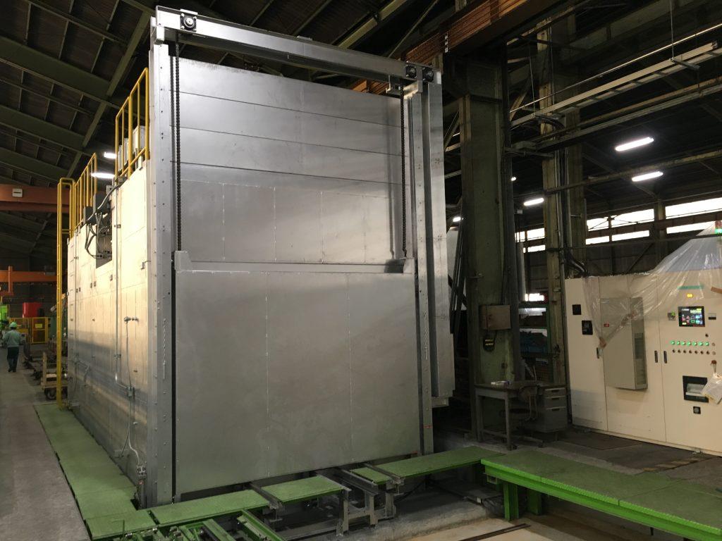 Hybrid(Gas+電気)熱処理炉